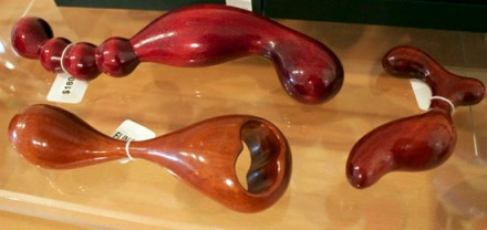 NobEssence wooden dildos ($110-$180), are the most natural option when it comes to eco-friendly sex toys. No splinters. Guaranteed.